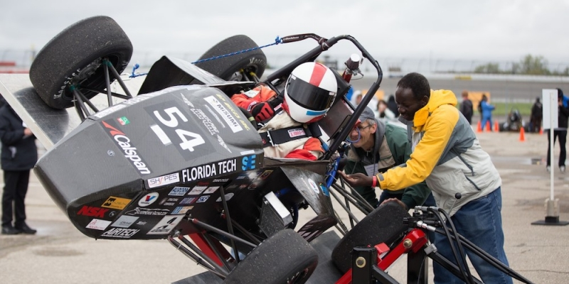 MUP Students Participate in SAE Formula Race