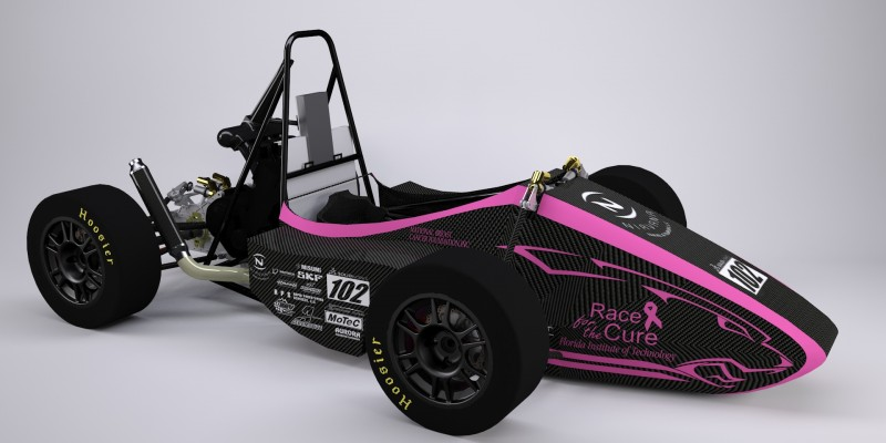 Florida Tech Motorsports is Racing for the Cure