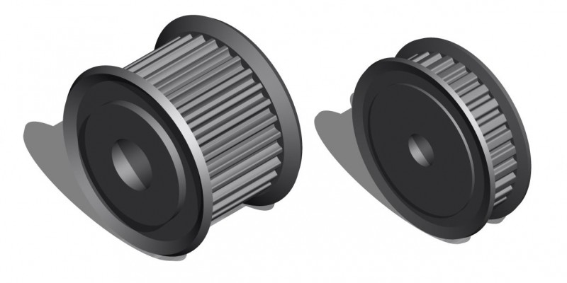 How do I know which pulley tooth profile to select for my synchronous belt driven system?