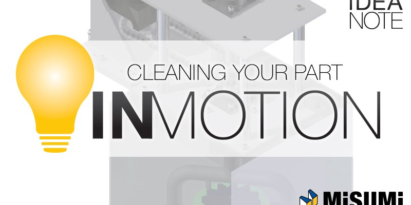 Video: IN MOTION – Cleaning A Part