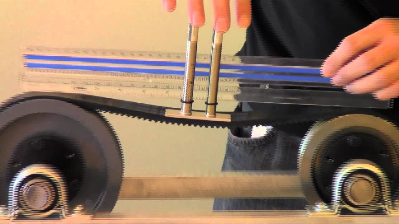 Digital Deflection Meter : Timing belt failure and maintenance misumi usa