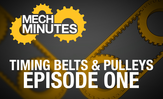 Timing Belts & Pulley Selection