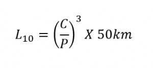 Reliability Life Formula