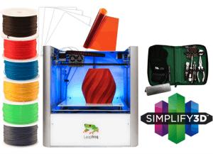 Leapfrog Creatr 3D printer starter package to buy