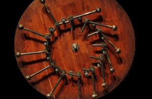 Perpetual motion machine designed by Leonardo da Vinci