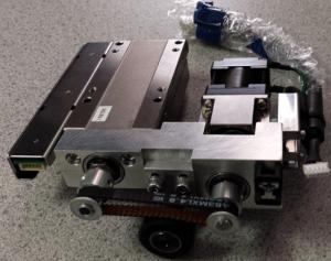 A customer-modified MISUMI High Precision Stage