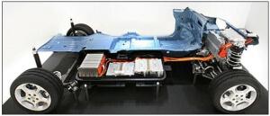Cutaway of Nissan Leaf